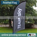 Custom High Quality Polyester Printing Advertising Flag Banner Flag Beach Feather Flag                                                                         Quality Choice