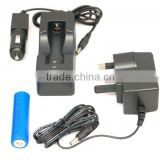 Best quality 18650 li-ion battery charger for charging 18350/18650 lithium ion battery cells