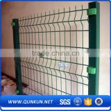 2m height pvc coated border green high quality PVC coated garden fence(china manufacturer)