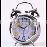 buy in China best selling Father's day gift cool silver mantle interactive time clock for home decoration