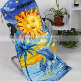 beach towel with pocket
