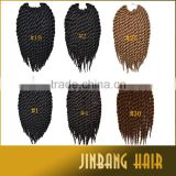 2x havana mambo braiding twist hair synthetic fiber havana crochet braiding hair mambo twist