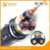 XLPE Insulation Material and tinned or bare copper Conductor Material high voltage cable