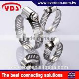 Auto connector stainless steel exhaust pipe flexible hose clamp