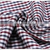 Italian dobby woven shirt yarn dyed fabric, high yarn count cotton
