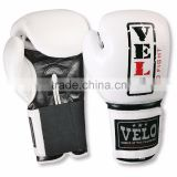 Leather Boxing Gloves Punch Bag Fight MMA i Grappling Pads