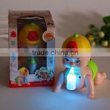 Factory Make Lovely Baby Dolls With Sound Light/Make design Dolls Toys With Sound Light/Customized Plastic Sound Dolls Factory
