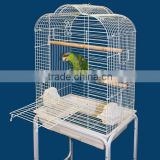 metal acrylic bird cage with candle holder