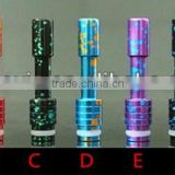 different style wide bore 510 disposable drip tip for you to choose