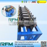 aluminum roof gutter equipment rolling forming machine