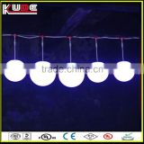 DMX control color changing LED lift ball with RGB light