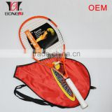 25 inch junior tennis racket carbon aluminium composite OEM factory