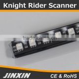 "Jinxin 22"" 48-LED 7-Color LED Knight Rider Scanner Lighting Strip Kit w/ Remote Control"