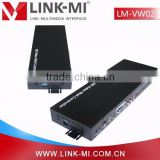 LINK-MI LM-VW02 1in4out (USB/VGA/AV/HDMI) to HDMI 1X4 Converter Splitter/matrix HDMI 2x2 3x3 LED Video wall controller