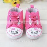beautiful lovely lace baby girl winter shoes with cat face