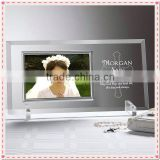Glass Sexy Bridal Photo Frame For Wediing Bride Decoration
