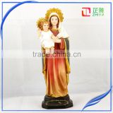 Classic mary sculpture and baby jesus statue hot sale