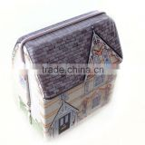 house shaped candy tin box,gift tin box for kids,acrylic candy box for birthday gift