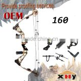 Durable new design compound bow with accessories