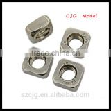 new style carbon steel hex nylock nut, blue nylock insert nut
