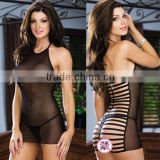 Transparent sexy nightgown Adult big yards lingerie wholesale famous in Europe and the United States