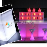 led ice cube bucket for wine display window/beer showcase/wine show window