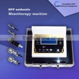 Portable No-needle RF face lifting Eyes galvanic shaping facial care mesotherapy machine