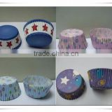 New Design Food Grade Products Wholesale Custom Cupcake Cups Disposable Cupcake Papers for Thanksgiving