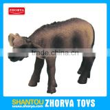 Plastic Animal Model Wild Animals small African buffalo Figures toys