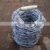 galvanzied barbed wire / 14x14 16x16 1.6 mm electric wires / hot dipped galvanzied barbed wire