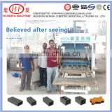 concrete paver making machinery / road paving stone machinery / concrete grasses interlocking block making machine quotation
