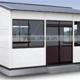 Prefabric ice cream stick house two storey office building