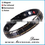4 in 1 Bio Elements Energy Magnetic Titanium Bracelet With Germanium Powder