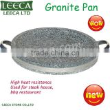 Korean granite pan barbecue grill stone