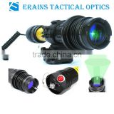 Suzero Zoomable Long Distance 100mw tactical night vision riflescope solutio of 100mw Green Laser Flashlight/Sight (ES-LS-KS300)