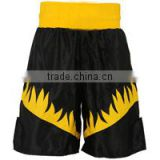 Black & Yellow Color Boxing Shorts
