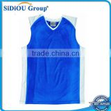Latest Adults 100% Polyester Basketball Singlet Jerseys