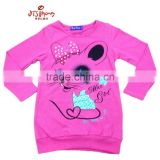 Long Sleeve chidren T Shirt wholesale alibaba apparel bulk garment stock clothes lot girls clothing