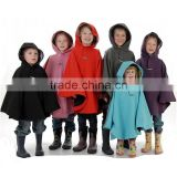 Wholesale high quality waterproof breathable polyester lightweight kids raincoats and ponchos