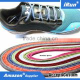 Customized Regular Stain Pattern Style Yeezy Rope Hiking Boot String Shoes Laces - Round Laces for Hockey Shoes - All sizes