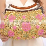 R0036H New arrival classical beaded clutch evening bags