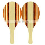Nice quality beach tennis racket /wooden beach racket / beach paddle