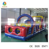 Supplier Cheap inflatable obstacle course,Giant obtacle course