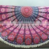 indian Mandala Throw, Wall Decor table cover , 72'' size mandala Table cloth