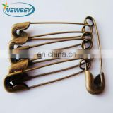 22mm small laundry safety pin BP101 00# for wholesale