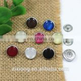 12mm high quality resin bread pearl copper snap button bodysuit popper children's clothing button