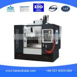 VMC 650 L HIWIN bar screw,China factory direct high speed 5 axis mini vertical machining center