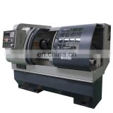 70mm hole CK6140 metal turning lathe specification cnc lathe machine for processing metal