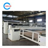 Polyester wadding production line and thermal wadding machine