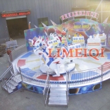 park amusement fun rides crazy dance